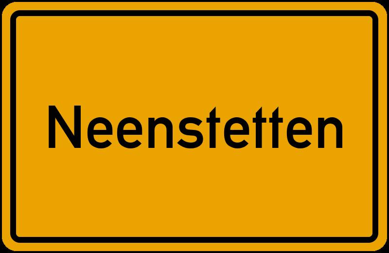 onlinestreet Branchenbuch für Neenstetten
