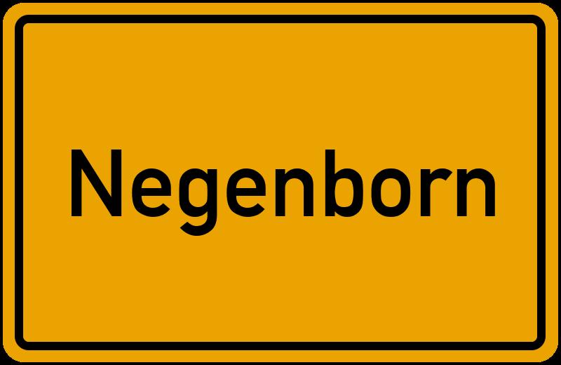 onlinestreet Branchenbuch für Negenborn