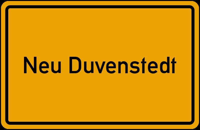onlinestreet Branchenbuch für Neu Duvenstedt