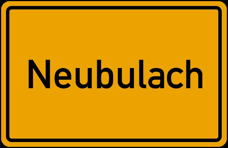 onlinestreet Branchenbuch für Neubulach
