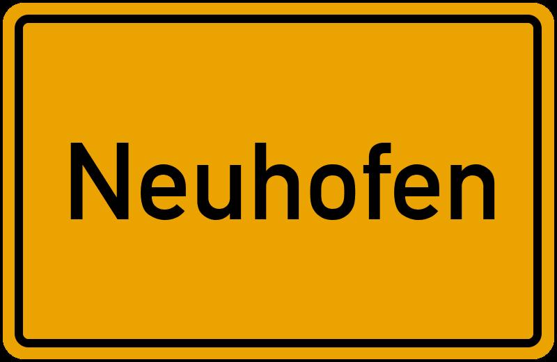 onlinestreet Branchenbuch für Neuhofen