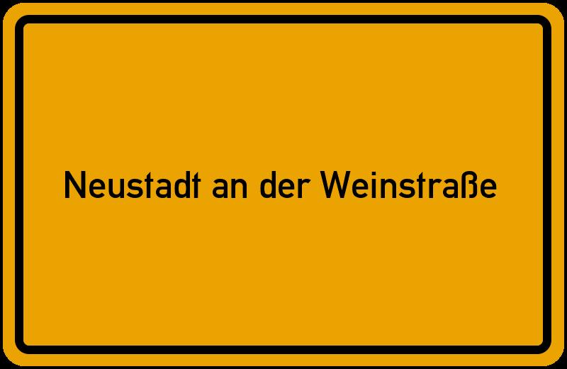 onlinestreet Branchenbuch für Neustadt an der Weinstraße