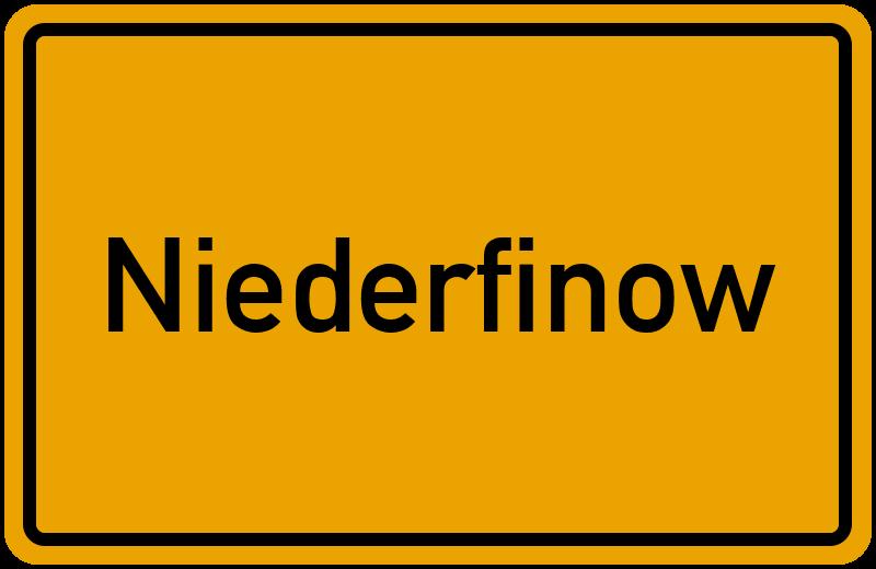 onlinestreet Branchenbuch für Niederfinow