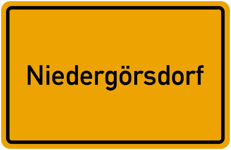 onlinestreet Branchenbuch für Niedergörsdorf