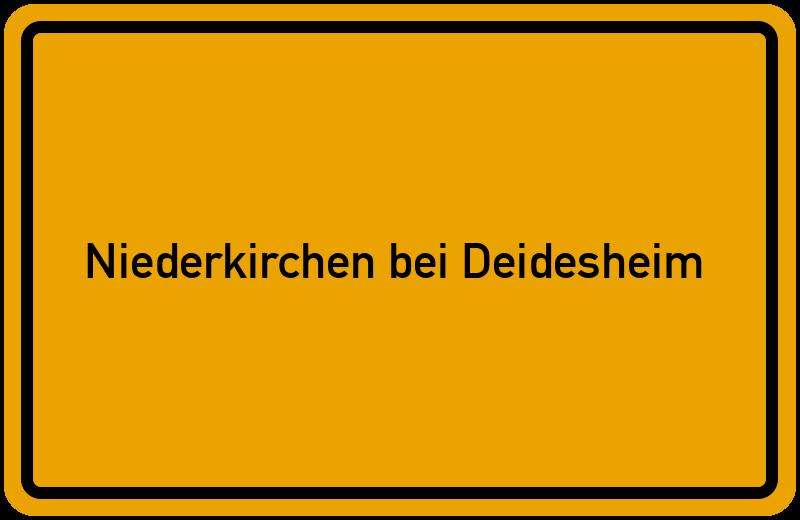 onlinestreet Branchenbuch für Niederkirchen bei Deidesheim