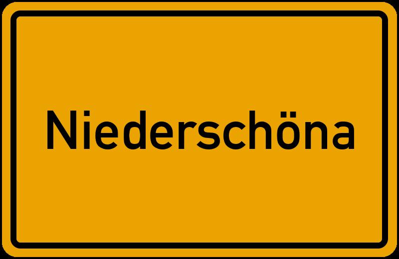 onlinestreet Branchenbuch für Niederschöna