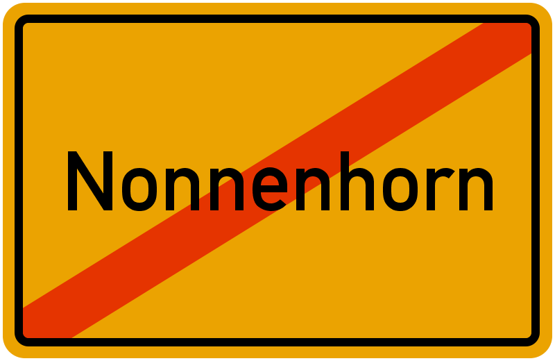 Ortsschild Nonnenhorn