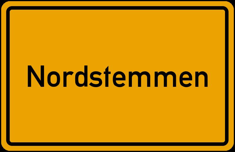 Ortsschild Nordstemmen