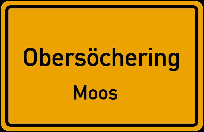 Ortsschild Obersöchering