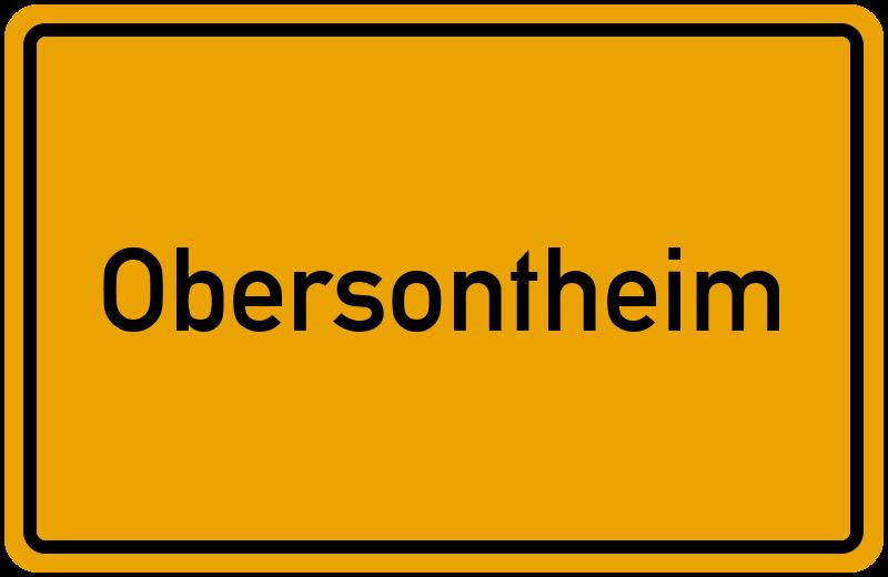 onlinestreet Branchenbuch für Obersontheim