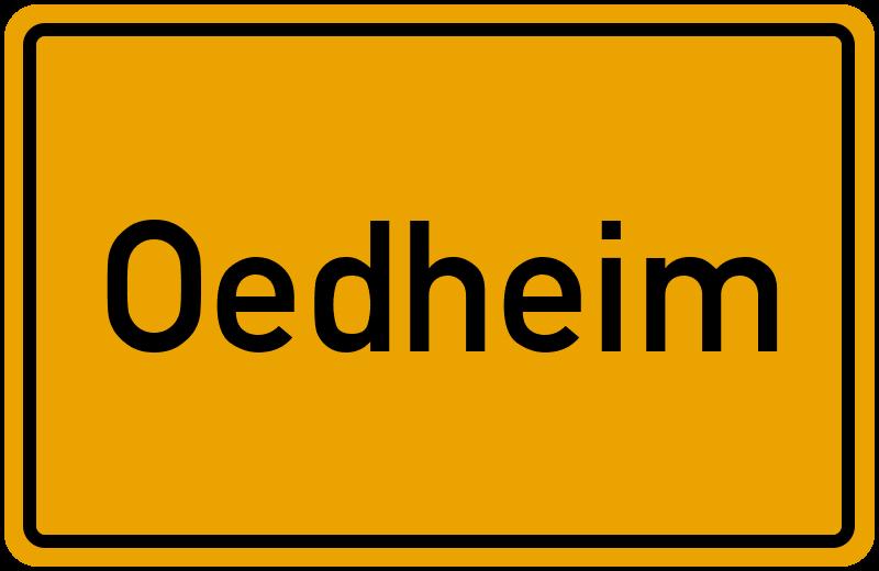 onlinestreet Branchenbuch für Oedheim