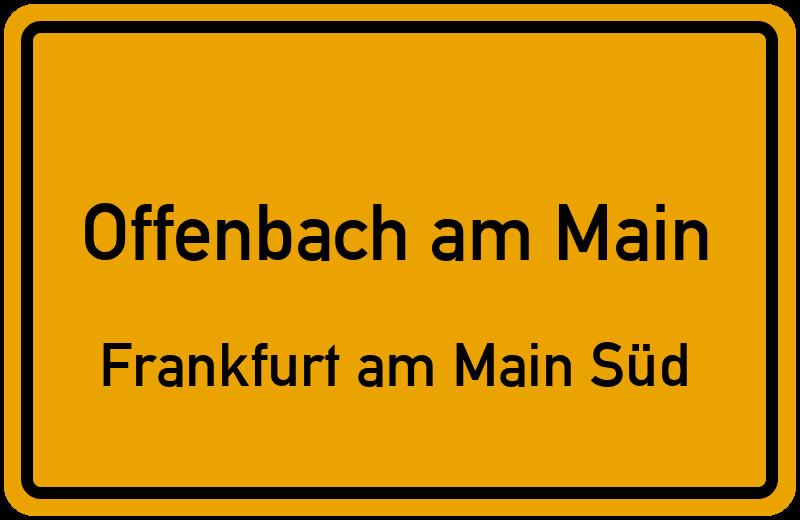 August bebel ring in 63067 offenbach am main frankfurt am for Werbeagentur offenbach am main
