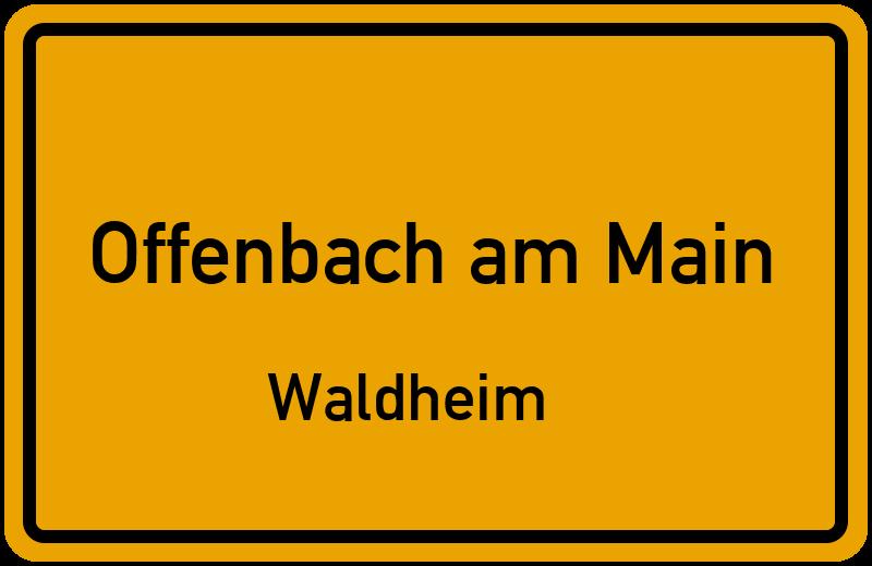 Am klingenrain in 63075 offenbach am main waldheim hessen for Innenarchitektur offenbach