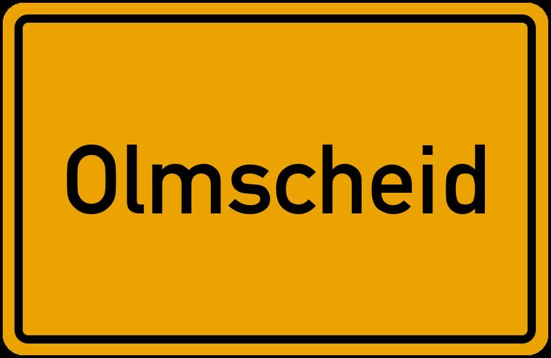 onlinestreet Branchenbuch für Olmscheid