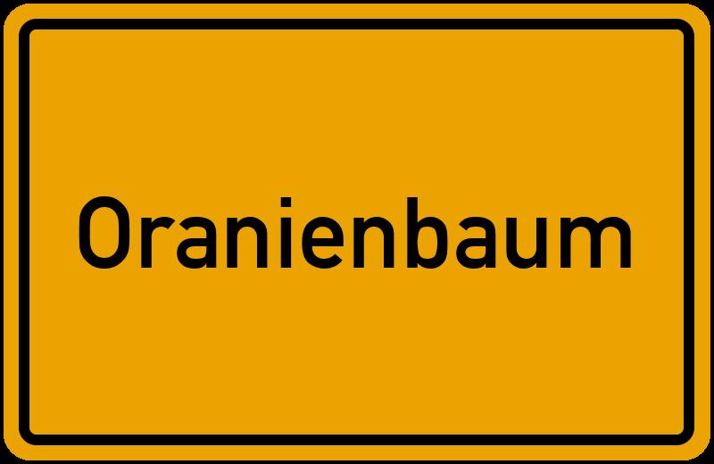 onlinestreet Branchenbuch für Oranienbaum