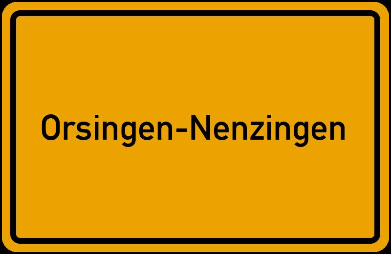 onlinestreet Branchenbuch für Orsingen-Nenzingen