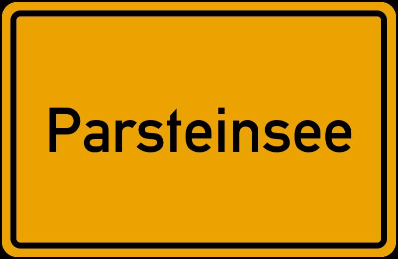 onlinestreet Branchenbuch für Parsteinsee