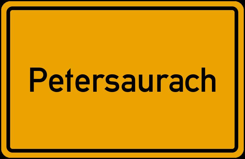 onlinestreet Branchenbuch für Petersaurach