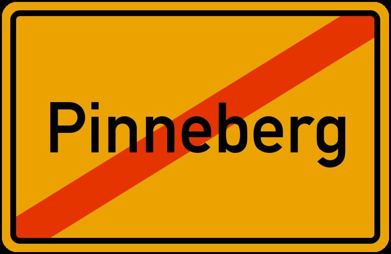 Ortsschild Pinneberg