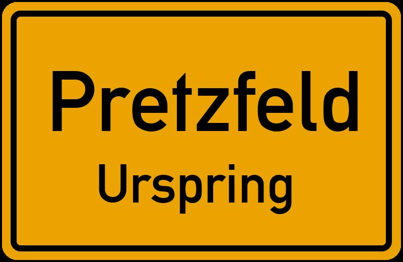 Urspring in 91362 Pretzfeld Urspring (Bayern)