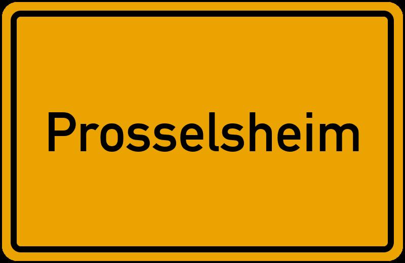onlinestreet Branchenbuch für Prosselsheim