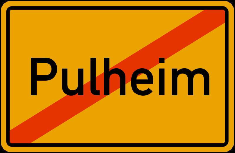 Ortsschild Pulheim