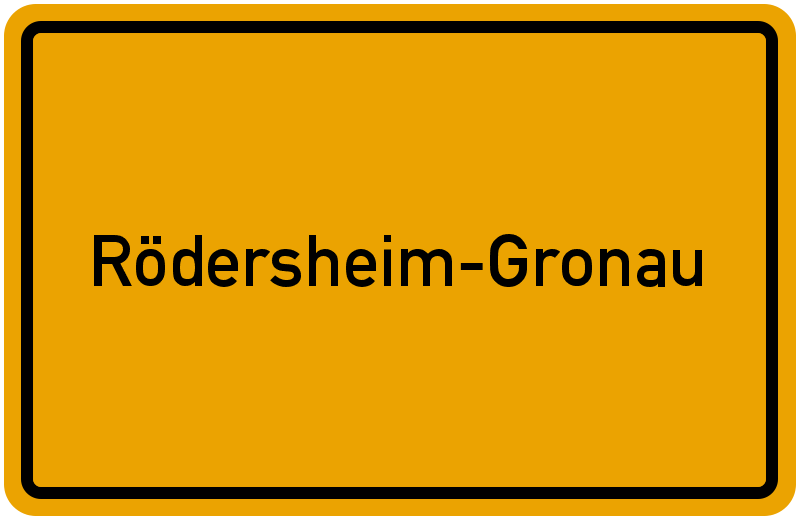onlinestreet Branchenbuch für Rödersheim-Gronau