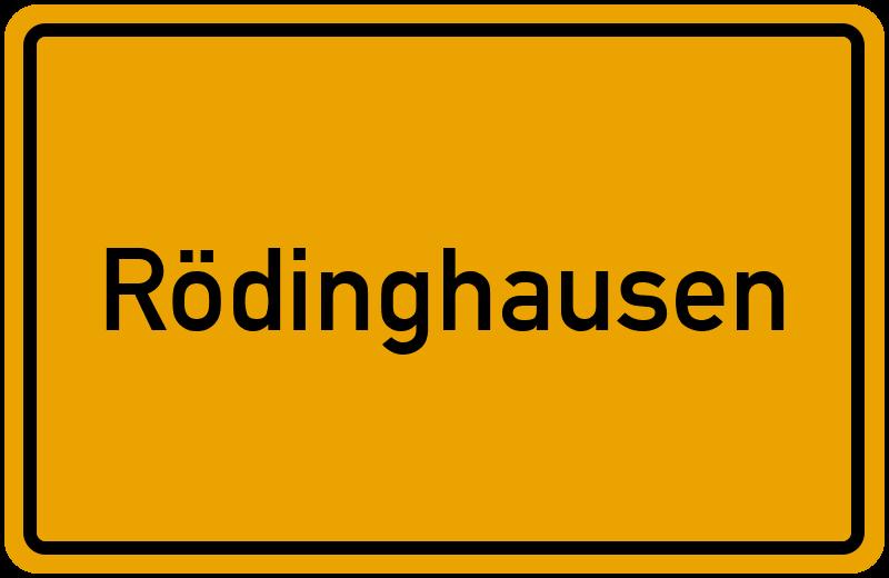 onlinestreet Branchenbuch für Rödinghausen