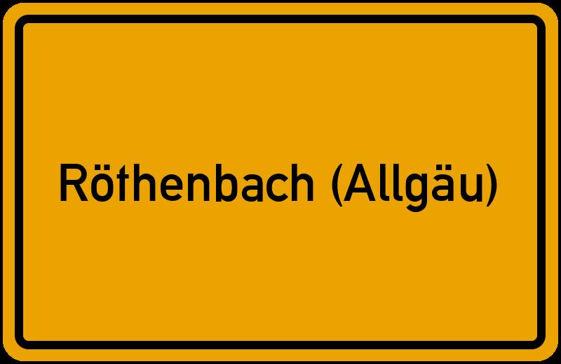 onlinestreet Branchenbuch für Röthenbach (Allgäu)