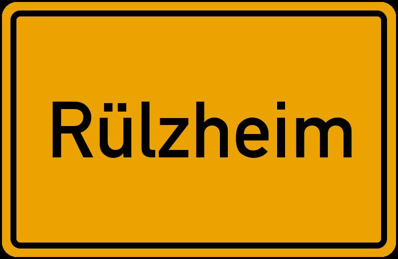 Ortsschild Rülzheim