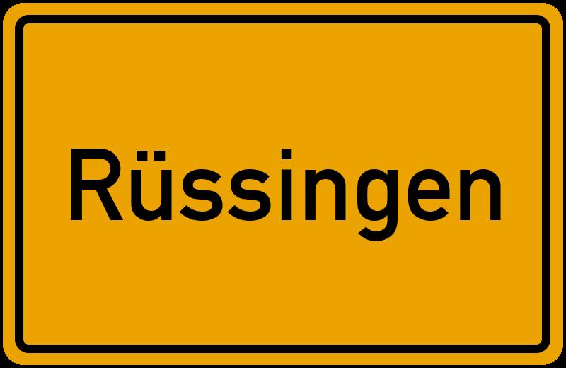 onlinestreet Branchenbuch für Rüssingen