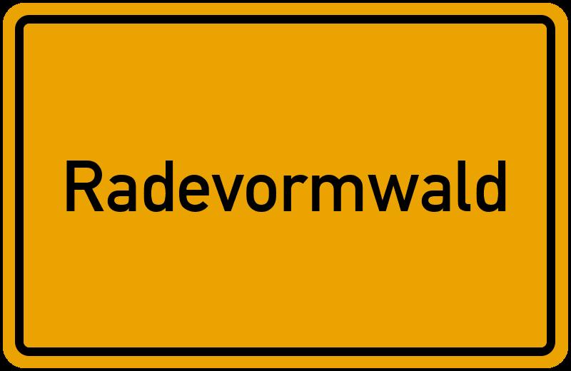 onlinestreet Branchenbuch für Radevormwald