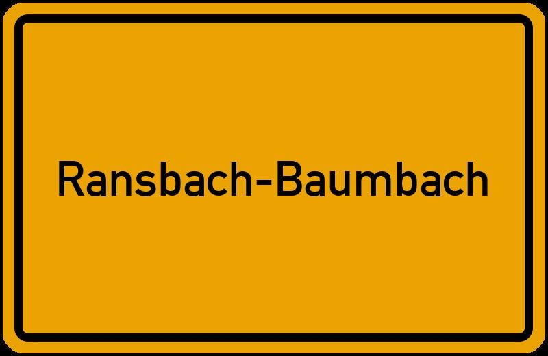 onlinestreet Branchenbuch für Ransbach-Baumbach