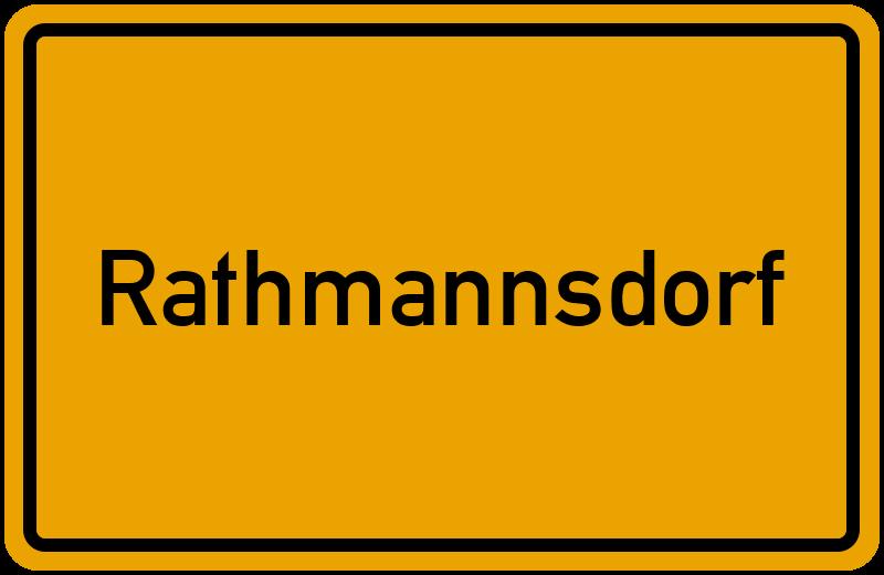 onlinestreet Branchenbuch für Rathmannsdorf