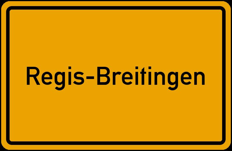 onlinestreet Branchenbuch für Regis-Breitingen