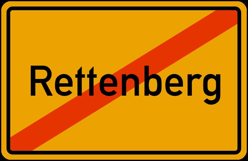 Ortsschild Rettenberg
