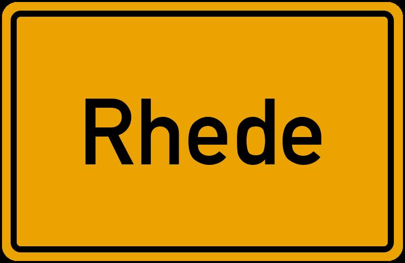 onlinestreet Branchenbuch für Rhede