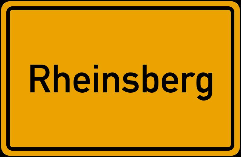 onlinestreet Branchenbuch für Rheinsberg