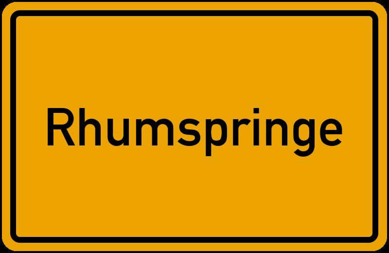 onlinestreet Branchenbuch für Rhumspringe