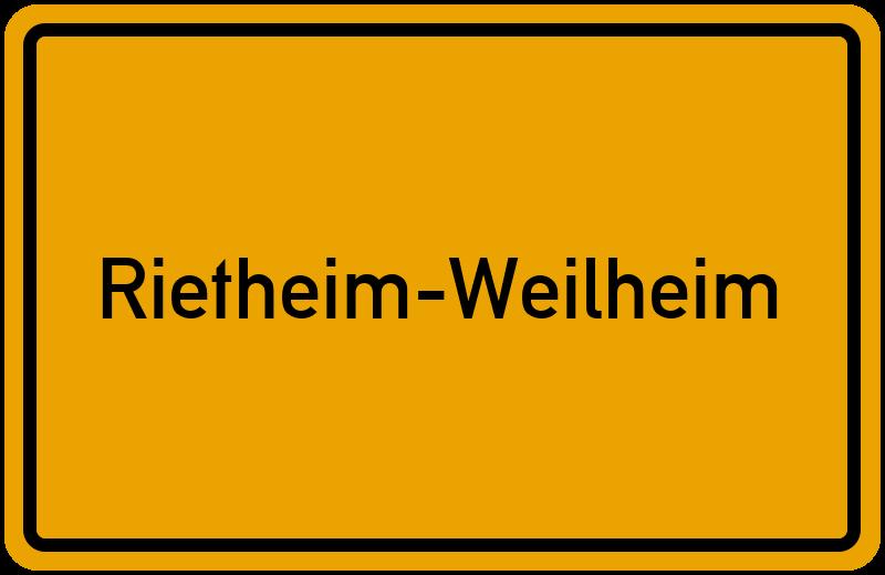 onlinestreet Branchenbuch für Rietheim-Weilheim