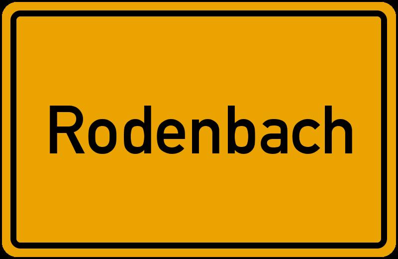 onlinestreet Branchenbuch für Rodenbach
