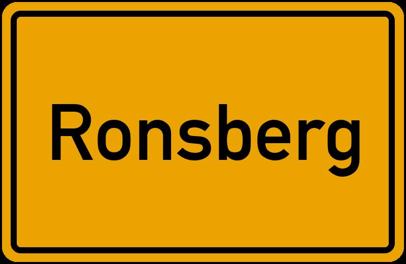 onlinestreet Branchenbuch für Ronsberg