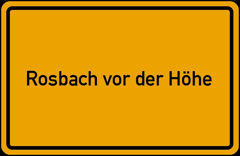 onlinestreet Branchenbuch für Rosbach vor der Höhe