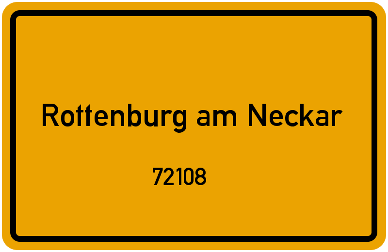 72108 Rottenburg, Deutschland