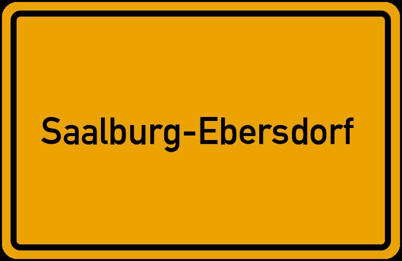 onlinestreet Branchenbuch für Saalburg-Ebersdorf