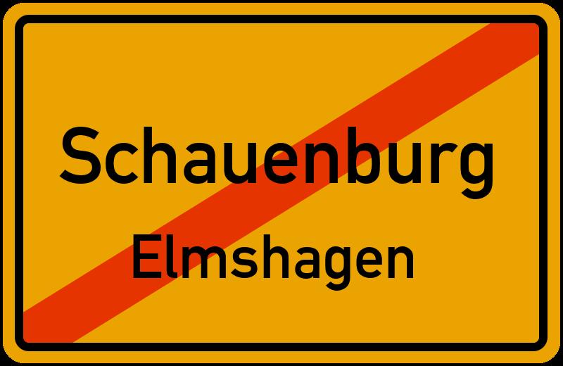 Ortsschild Schauenburg