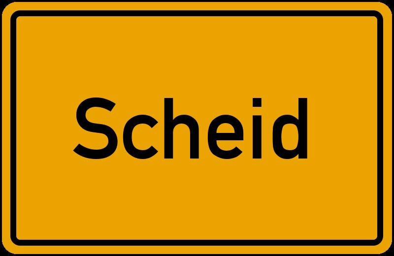 onlinestreet Branchenbuch für Scheid