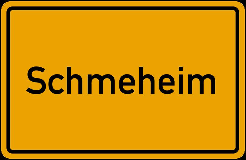 onlinestreet Branchenbuch für Schmeheim