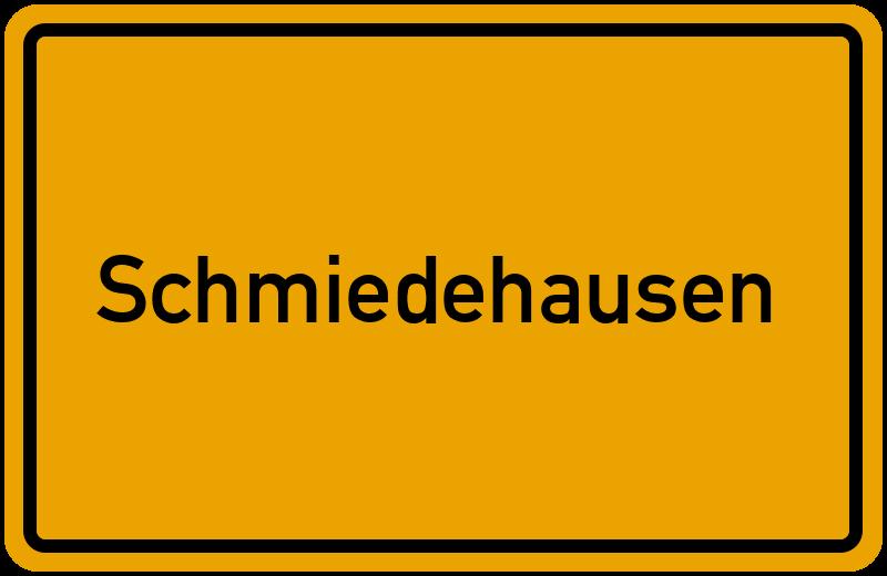 onlinestreet Branchenbuch für Schmiedehausen