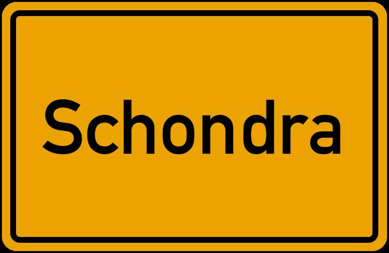 onlinestreet Branchenbuch für Schondra